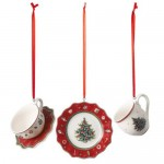 Подвески Посуда 6 см набор из 3 предметов Toy's Delight Decoration Villeroy & Boch