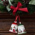 Подвеска колокольчик зеленый 7 см My Christmas Tree Villeroy & Boch