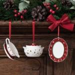 Подвески Посуда 7 см набор из 3 предметов Toy's Delight Decoration Villeroy & Boch