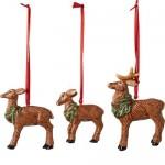 Подвески Олени, набор из 3 предметов Nostalgic Ornaments Villeroy & Boch