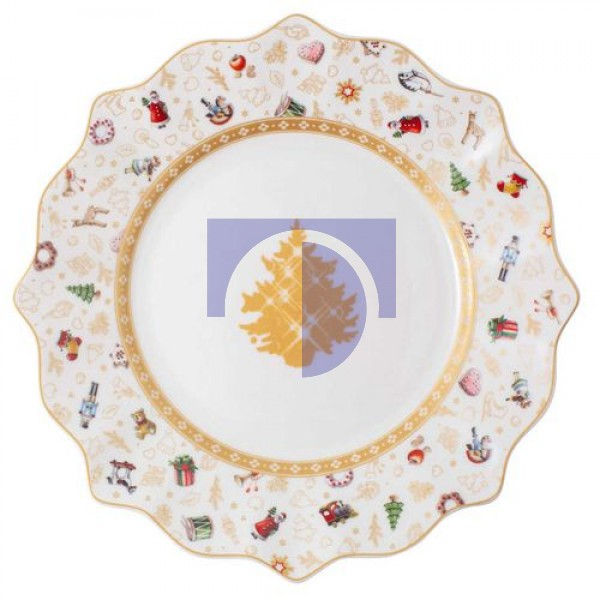 Тарелка для завтрака 24 см Юбилейный выпуск Toy's Delight Villeroy & Boch