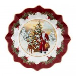 Пиала большая Санта у елки 25 см Toys Fantasy Villeroy & Boch