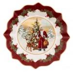 Вазочка на ножке Санта у елки 24 см Toys Fantasy Villeroy & Boch