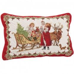 Гобеленовая подушка Санта 32x48 см Toys Fantasy Villeroy & Boch