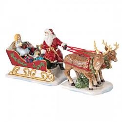 Фигурка Санта на санях 36 см Christmas Toys Villeroy & Boch