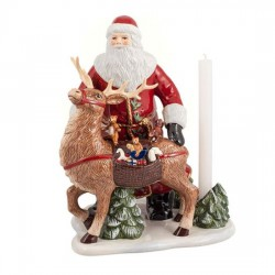 Фигурка Санта с оленем 35 см Christmas Toys Memory Villeroy & Boch