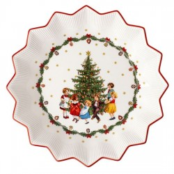 Пиала большая 24,5 см Хоровод вокруг елки Toys Fantasy Villeroy & Boch