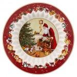Пиала большая 25 см Санта с подарками Toys Fantasy Villeroy & Boch