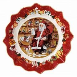 Пиала большая 25 см Санта с письмами Toys Fantasy  Villeroy & Boch