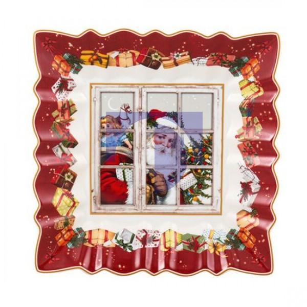 Пиала квадратная 23x23 см Санта Toys Fantasy Villeroy & Boch