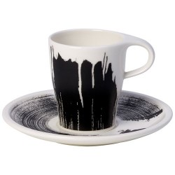 Чашка для еспресо Doppio 0,18 л з блюдцем Coffee Passion Awake Villeroy & Boch