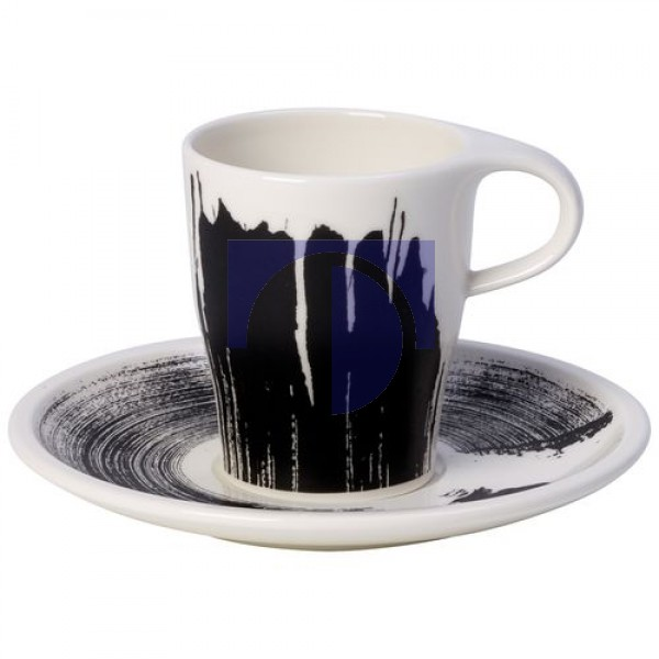 Чашка для эспрессо Doppio 0,18 л с блюдцем Coffee Passion Awake Villeroy & Boch