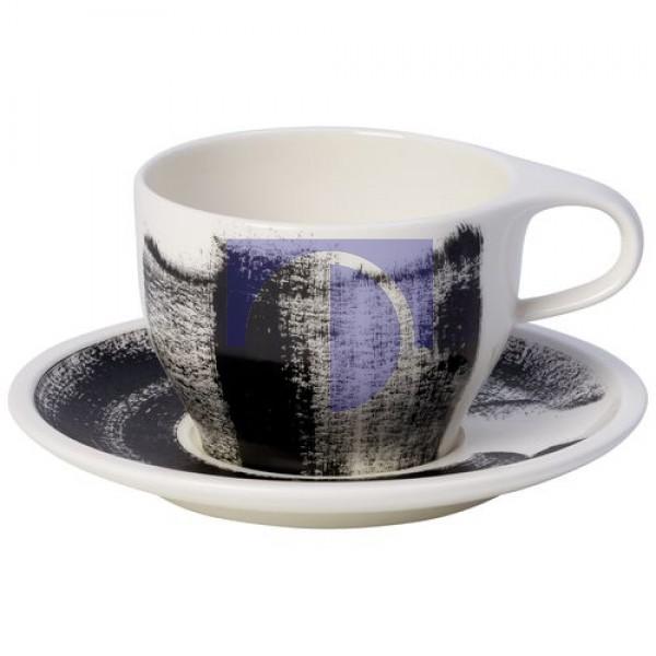 Чашка для кофе с молоком 0,35 л с блюдцем Coffee Passion Awake Villeroy & Boch