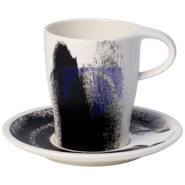 Кофейная чашка большая 0,38 л с блюдцем Coffee Passion Awake Villeroy & Boch