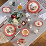 Тарелка для завтрака 21,5 см Colourful Life Deep Red Villeroy & Boch