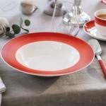 Тарелка суповая 25 см Colourful Life Deep Red Villeroy & Boch