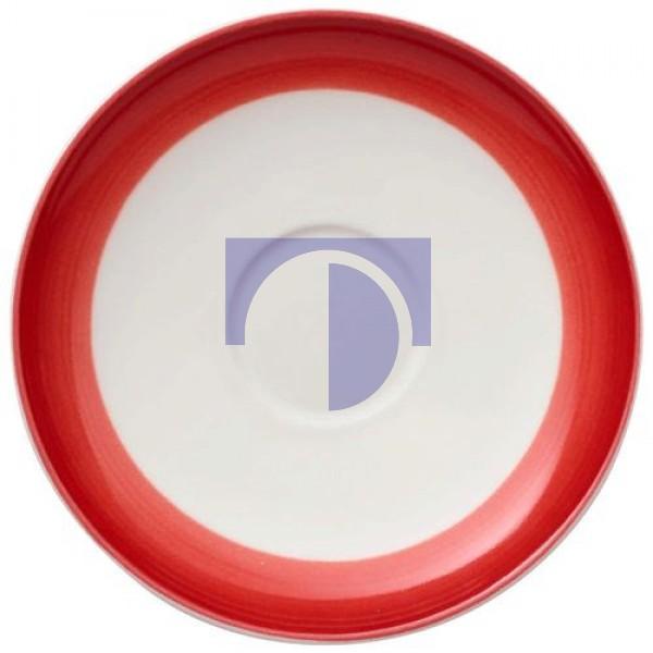 Блюдце к чашке для эспрессо 12 см Colourful Life Deep Red Villeroy & Boch
