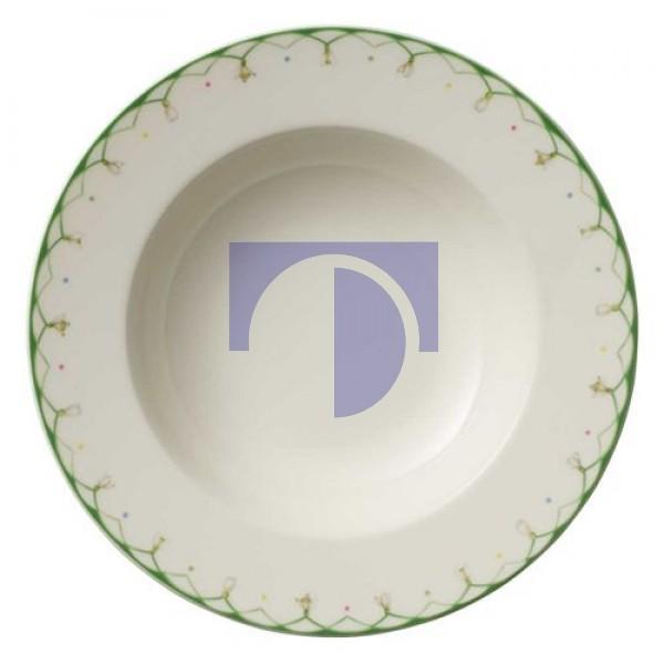 Тарелка суповая 25 см Colourful Spring Villeroy & Boch