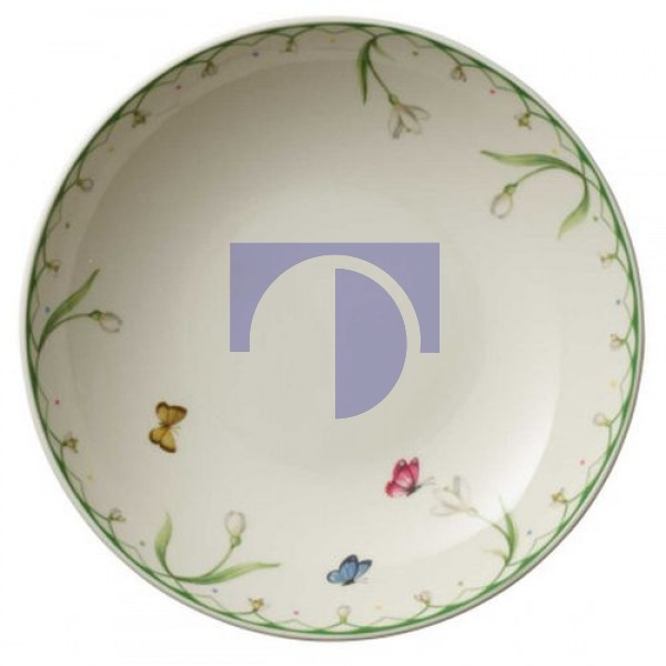 Тарелка глубокая 24 см Colourful Spring Villeroy & Boch