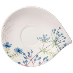 Блюдце для чашки для завтрака 21x18 см Flow Couture Villeroy & Boch