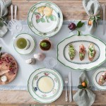 Блюдце для чайной чашки Green Line 15 см French Garden Villeroy & Boch