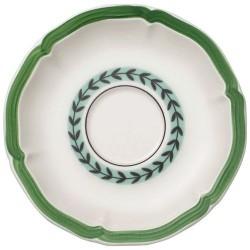 Блюдце для чашки для завтрака Green Line 17 см French Garden Villeroy & Boch