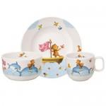 Набір дитячого посуду 3 предмета Happy as a Bear Villeroy & Boch