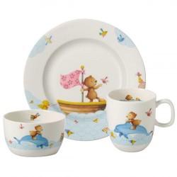 Набор детской посуды 3 предмета Happy as a Bear Villeroy & Boch