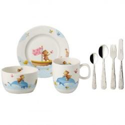 Набор детской посуды 7 предметов Happy as a Bear Villeroy & Boch