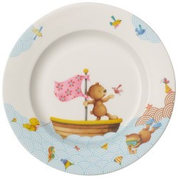 Тарелка мелкая детская 22 см Happy as a Bear Villeroy & Boch