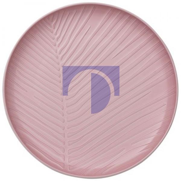 Тарілка 24 см рожева Leaf It's my match Villeroy & Boch
