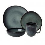 Тарелка для завтрака 23 см серая Lave Gris Villeroy & Boch
