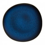 Тарелка столовая 28 см синяя Lave Bleu Villeroy & Boch