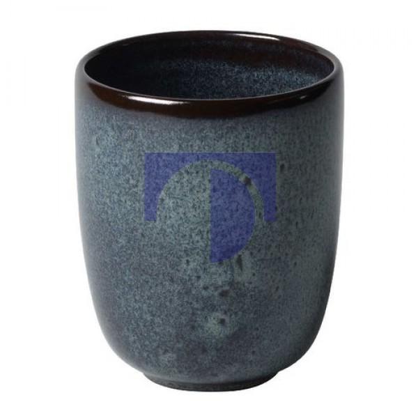 Чашка без ручки 0,4 л серая Lave Gris Villeroy & Boch
