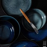 Салатник 22 см серый Lave Gris Villeroy & Boch