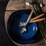 Салатник 22 см синий Lave Bleu Villeroy & Boch