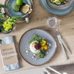 Тарілка для сніданку 23 см бежева Lave Beige Villeroy & Boch
