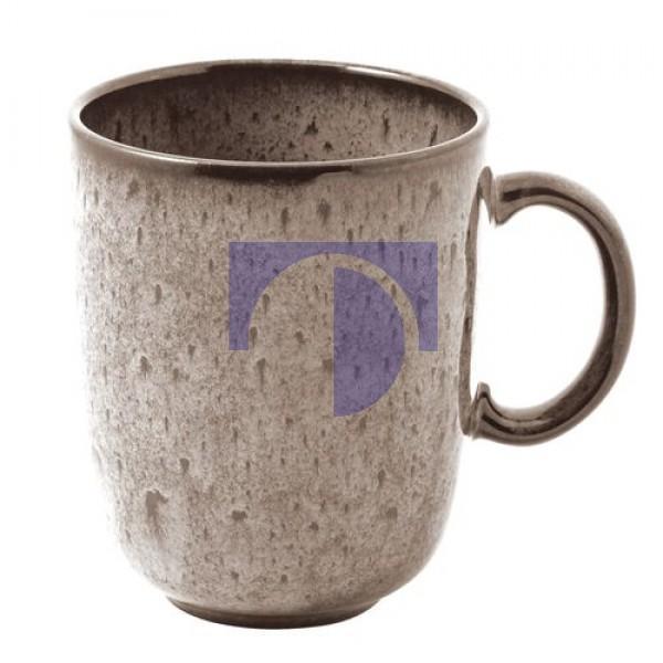 Чашка с ручкой 0,4 л бежевая Lave Beige Villeroy & Boch