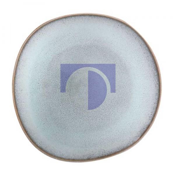 Тарелка столовая 28 см бирюзовая Lave Glace Villeroy & Boch
