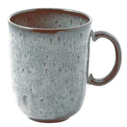 Чашка с ручкой 0,4 л бирюзовая Lave Glace Villeroy & Boch