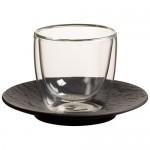 Блюдце к чашке для эспрессо 12 см Manufacture Rock Villeroy & Boch