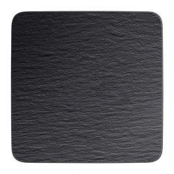 Тарелка квадратная 32,5 см Manufacture Rock Villeroy & Boch