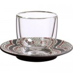 Блюдце к чашке для эспрессо 12 см Manufacture Rock Dessert Villeroy & Boch