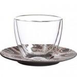 Блюдце к чашке для кофе с молоком 17 см Manufacture Rock Dessert Villeroy & Boch