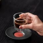 Блюдце к чашке для эспрессо 12 см Manufacture Rock Glow Villeroy & Boch
