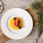 Тарелка для завтрака 22 см Manufacture Rock blanc Villeroy & Boch