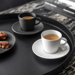 Чашка для эспрессо 0,10 л Manufacture Rock blanc Villeroy & Boch