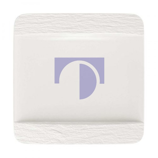 Тарелка квадратная 28 см Manufacture Rock blanc Villeroy & Boch