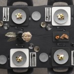 Тарелка квадратная 32,5 см Manufacture Rock blanc Villeroy & Boch