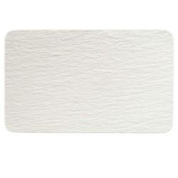 Тарелка прямоугольная 28х17 см Manufacture Rock blanc Villeroy & Boch